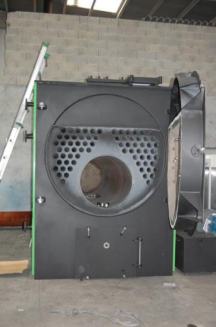 Caldera biomasa industrial