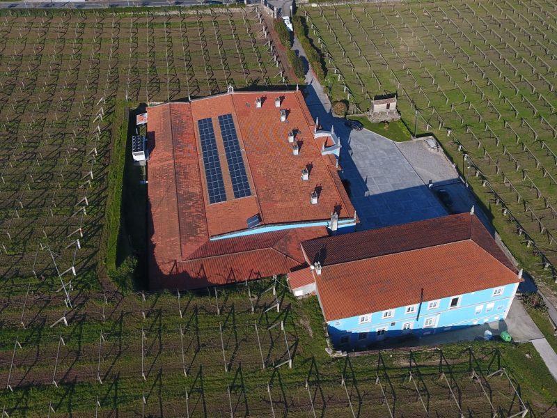 instalación fotovoltaica para autoconsumo en bodega vinícola