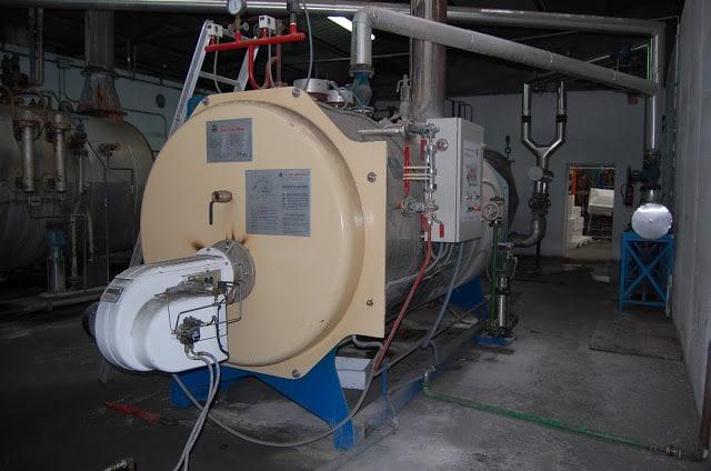 Caldera vapor biomasa