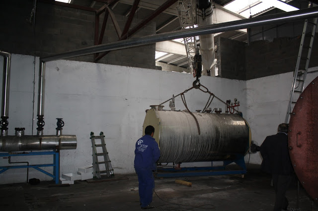 Caldera de vapor Biomasa