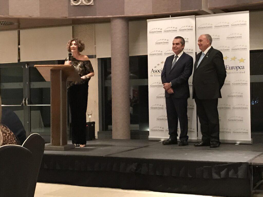 Gala de la Asociación Europea de Economía y Competitividad 2017