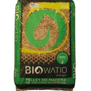 Palet pellet Biowatio
