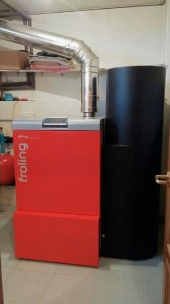 Calefacción con Biomasa