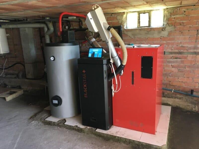 Instalación biomada vivienda particular