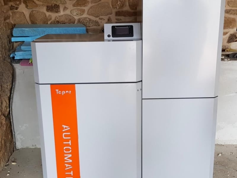Biomasa para calefacción vivienda particular