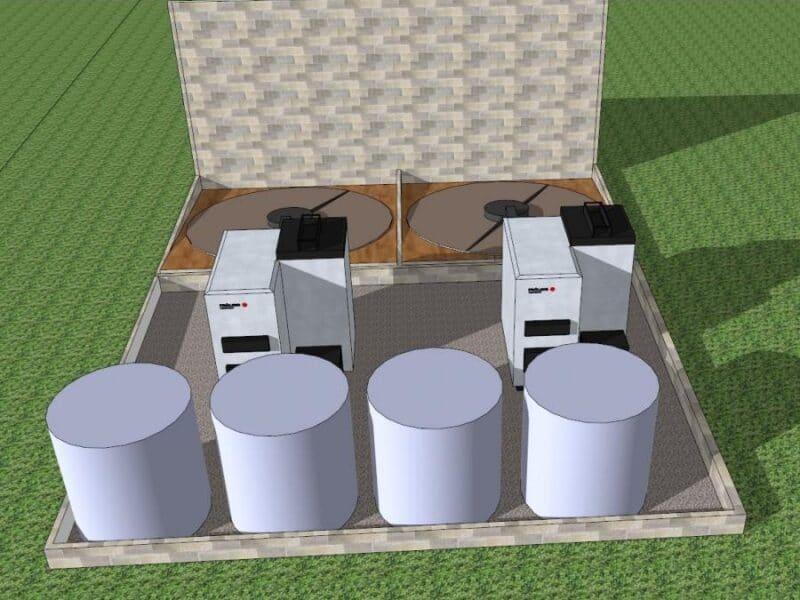 Proyecto cabina de biomasa