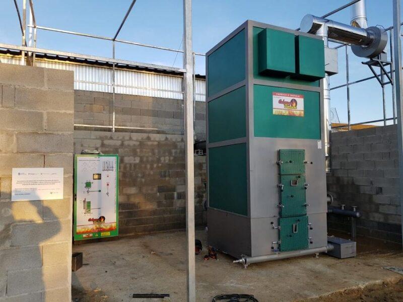 Caldera biomasa empresa