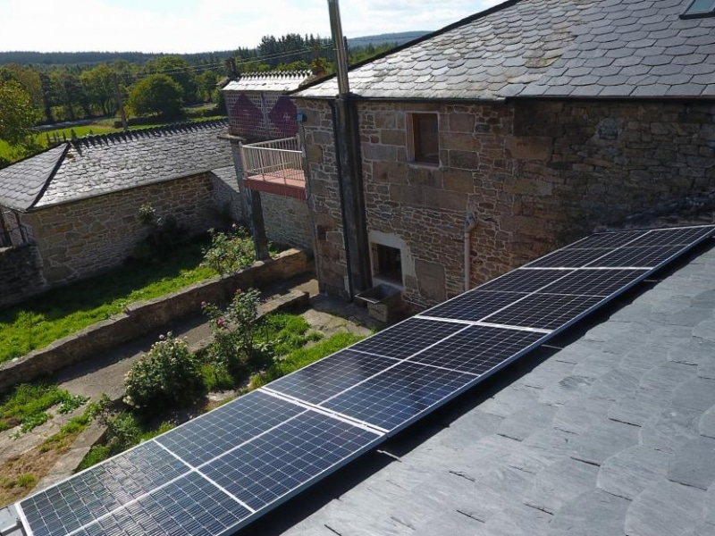 Fotovoltaica para autoconsumo vivienda