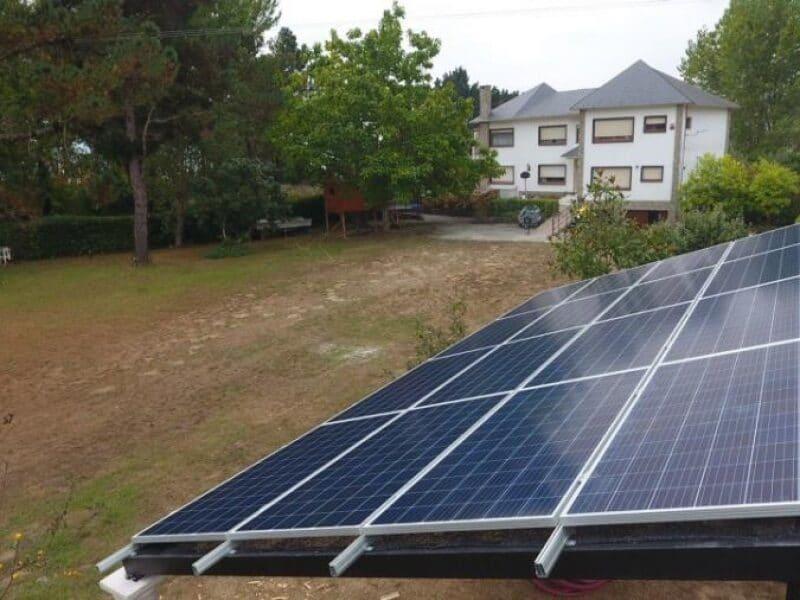Fotovoltaica instalación