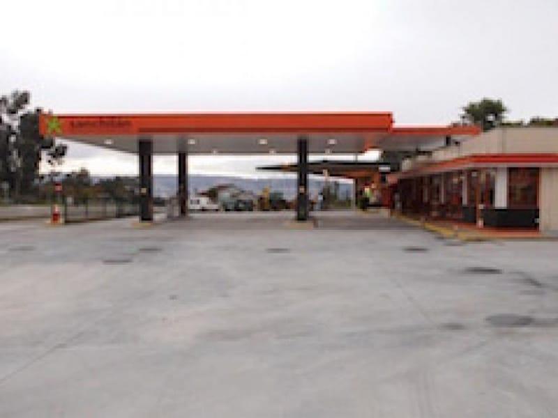 Monitorización energética gasolinera