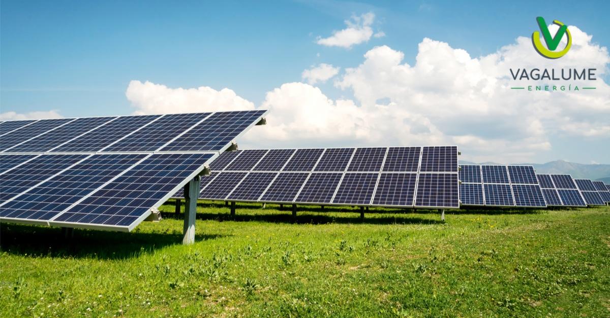 Paneles solares Vagalume energía