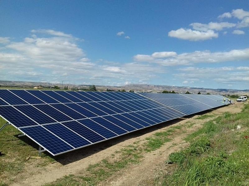 Parque eólico huerto solar