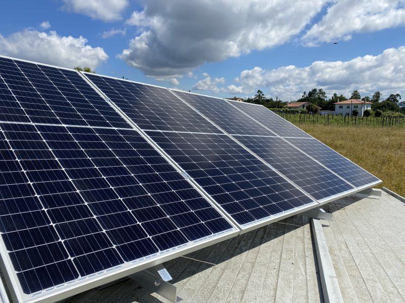 Estructura de energía solar Vagalume