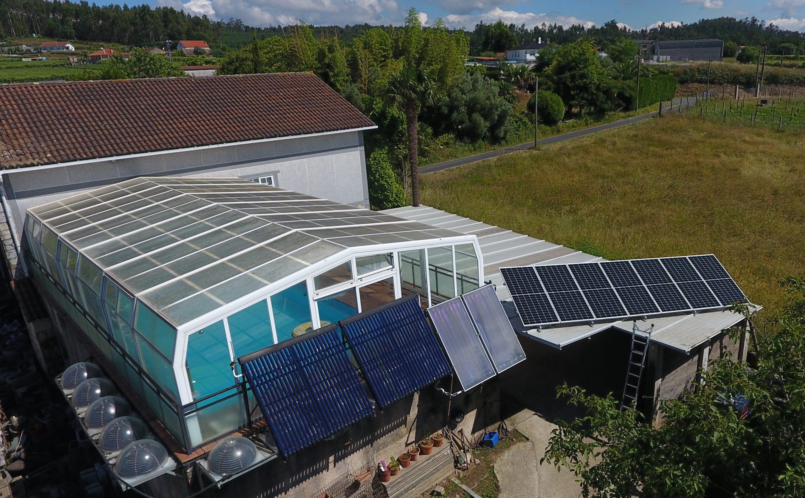 Estructura instalación fotovoltaica