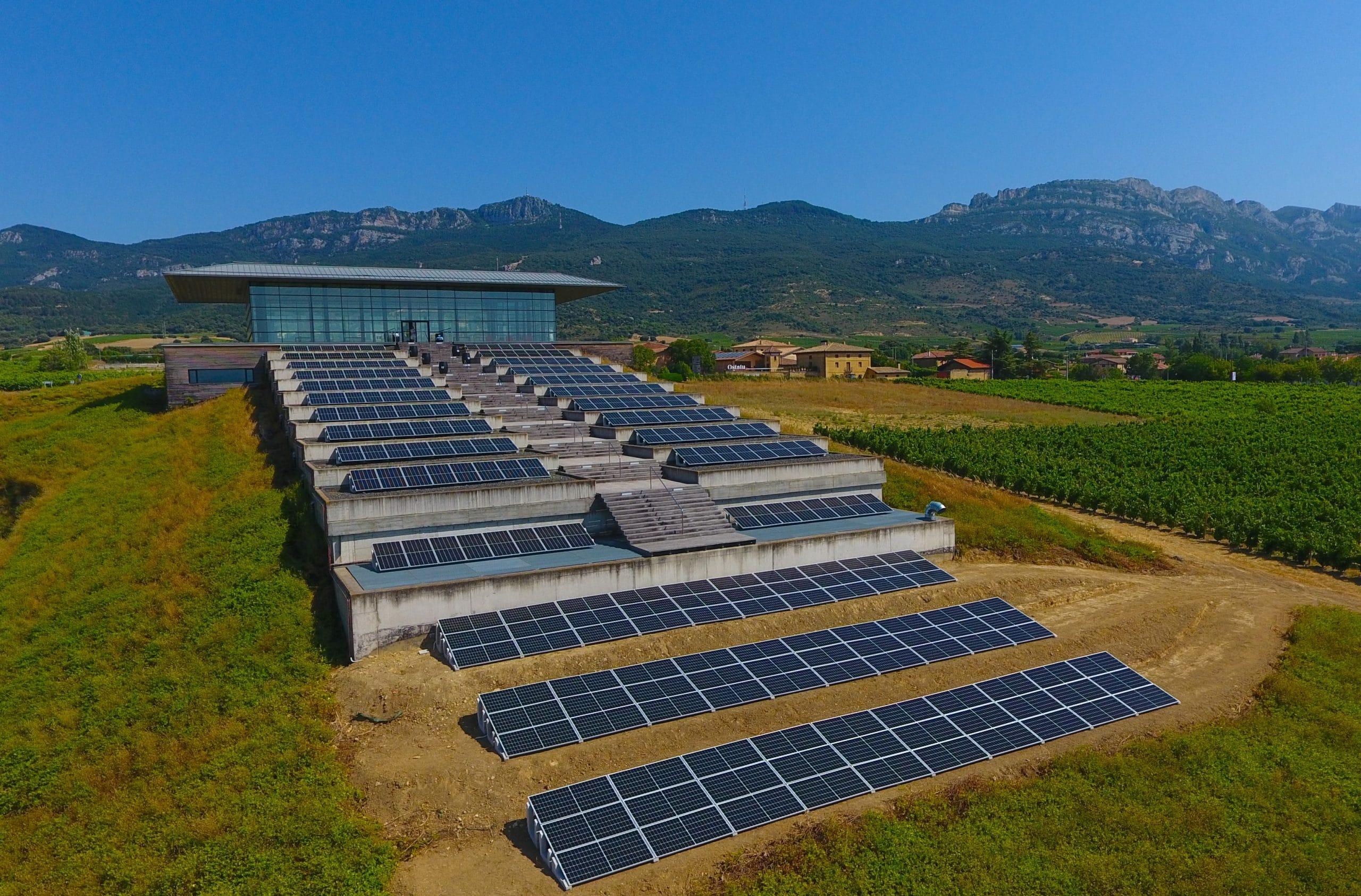 Instalación fotovoltaica en bodega