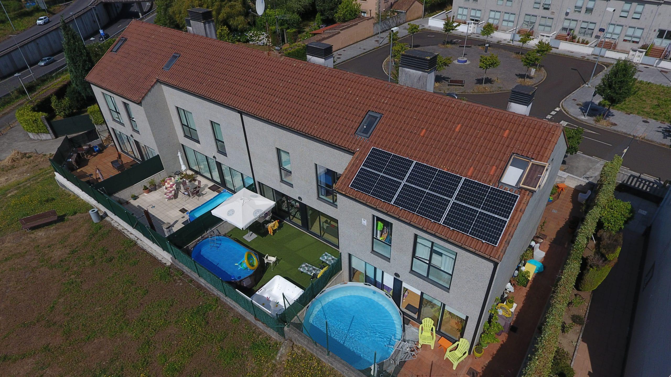 Instalación fotovoltaica para autoconsumo casa