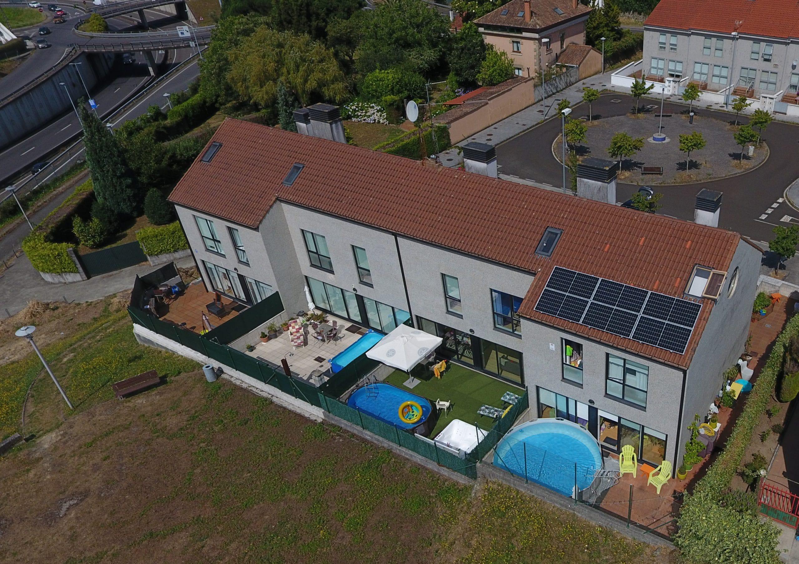 Instalación fotovoltaica para autoconsumo vivienda unifamiliar