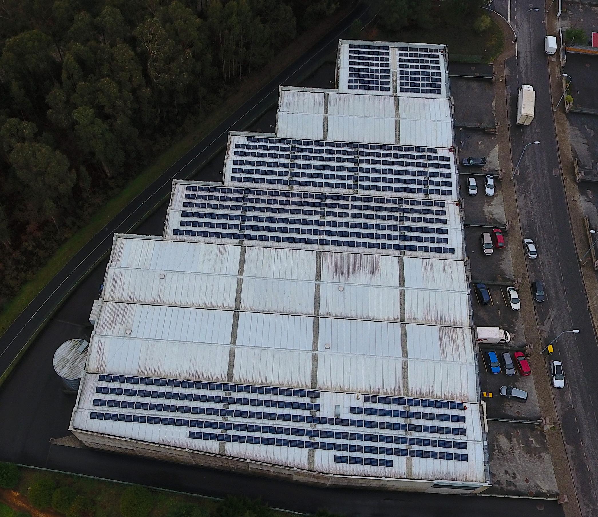 Instalación fotovoltaica autoconsumo en polígono industrial