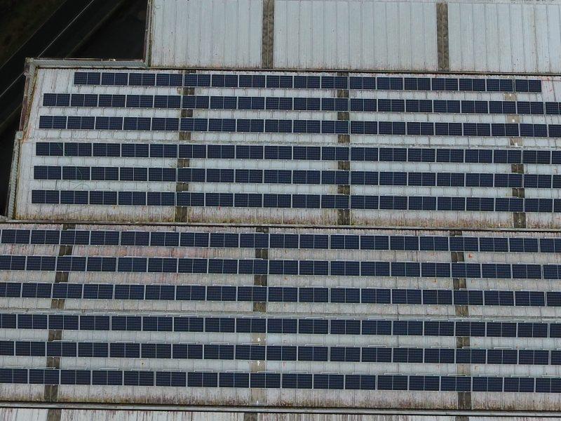 Instalación fotovoltaica autoconsumo en nave industrial