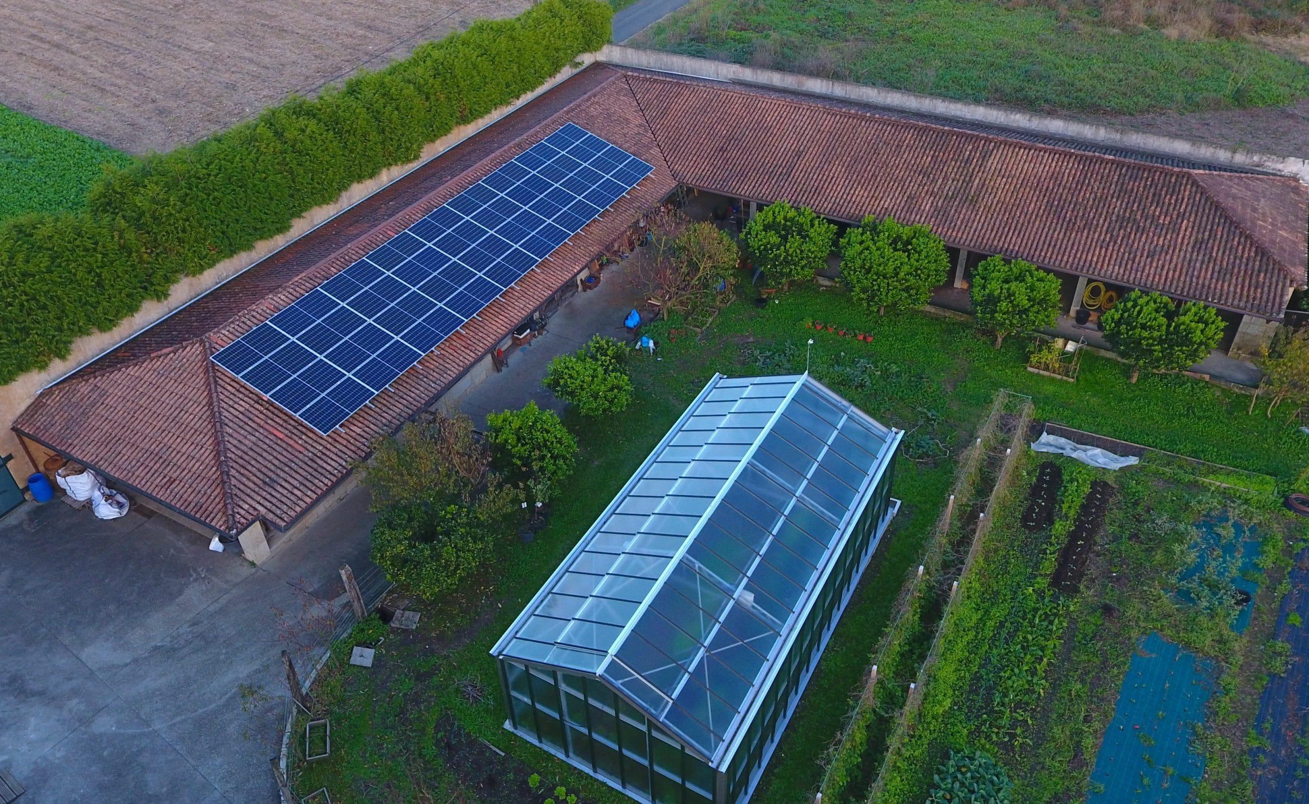 Instalación fotovoltaica para autoconsumo vivienda