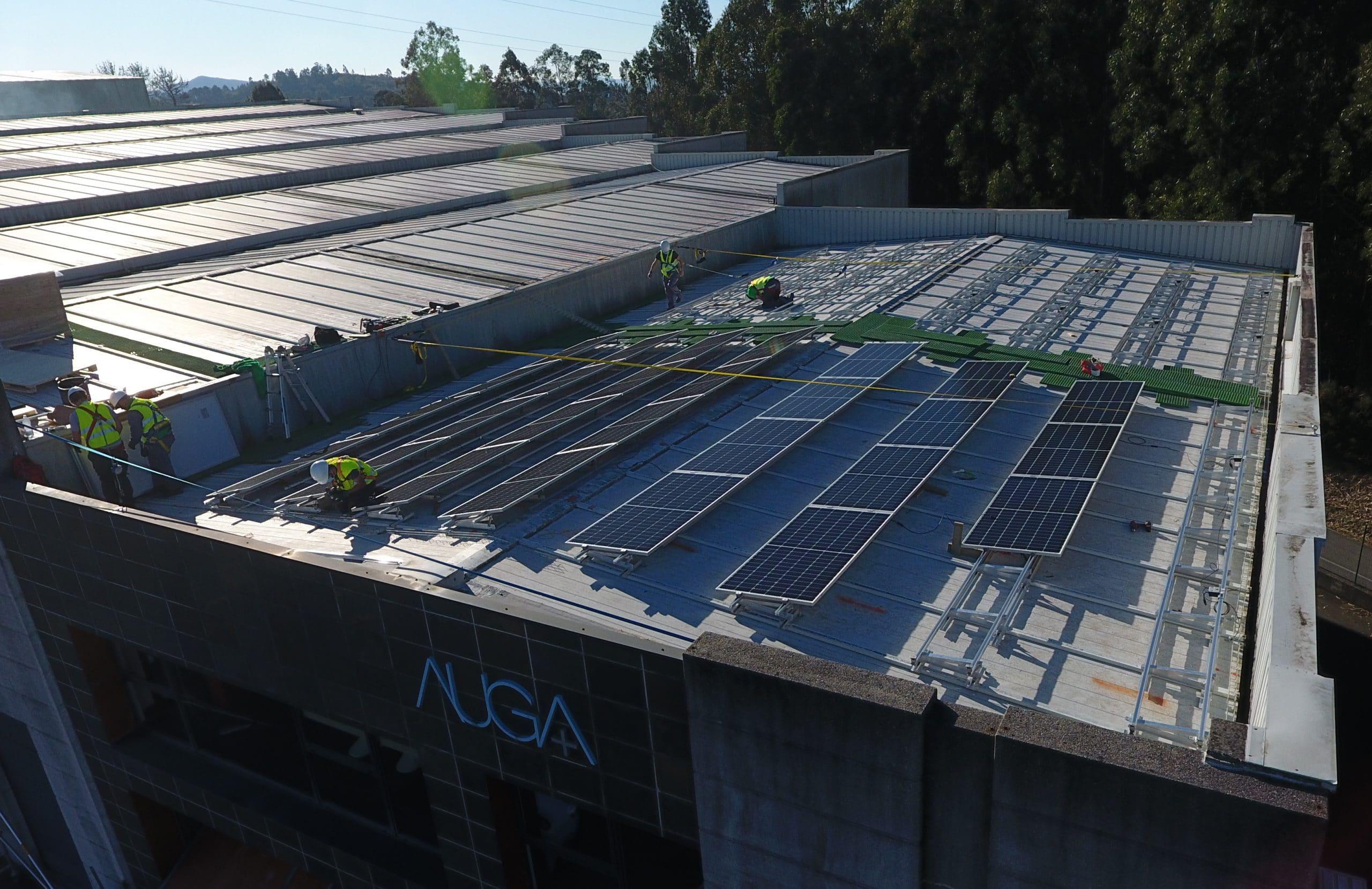 Instalacion fotovoltaica nave industrial