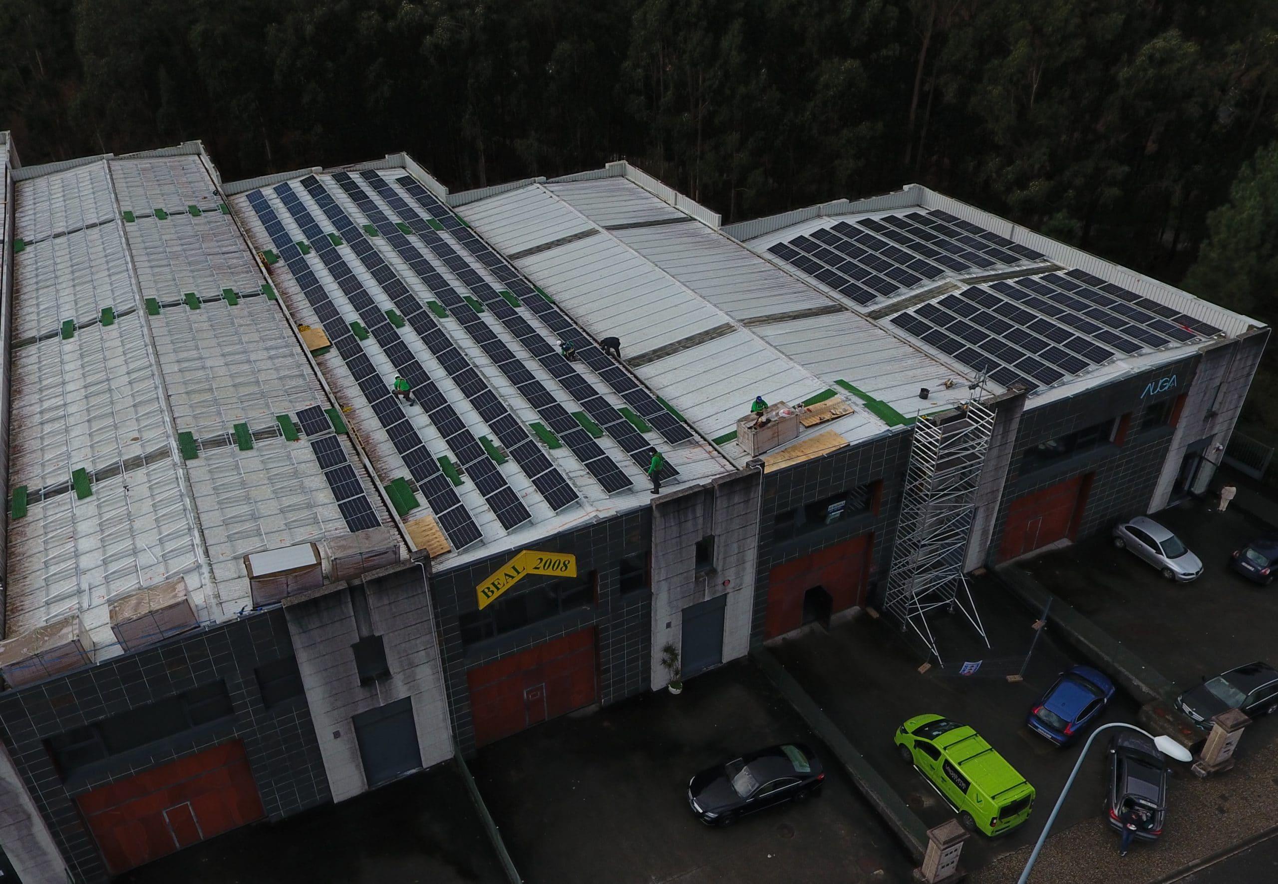 instalación fotovoltaica para autoconsumo en nave industrial