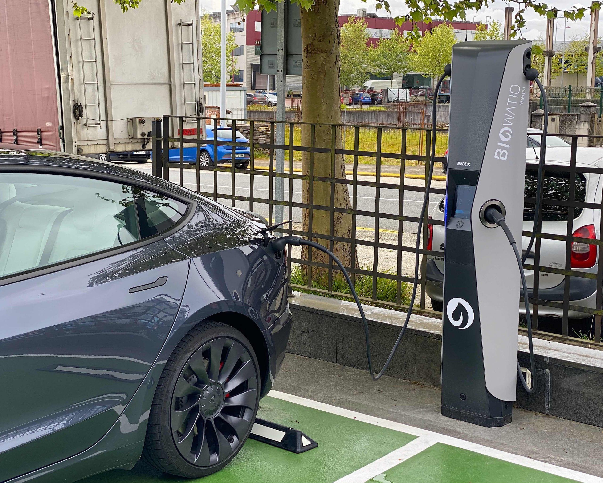 cargador coche electrico biowatio