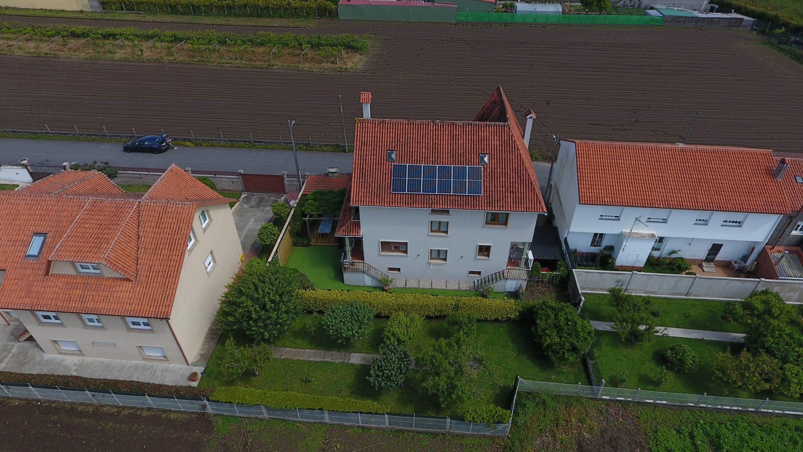 Fotovoltaica autoconsumo en vivienda particular
