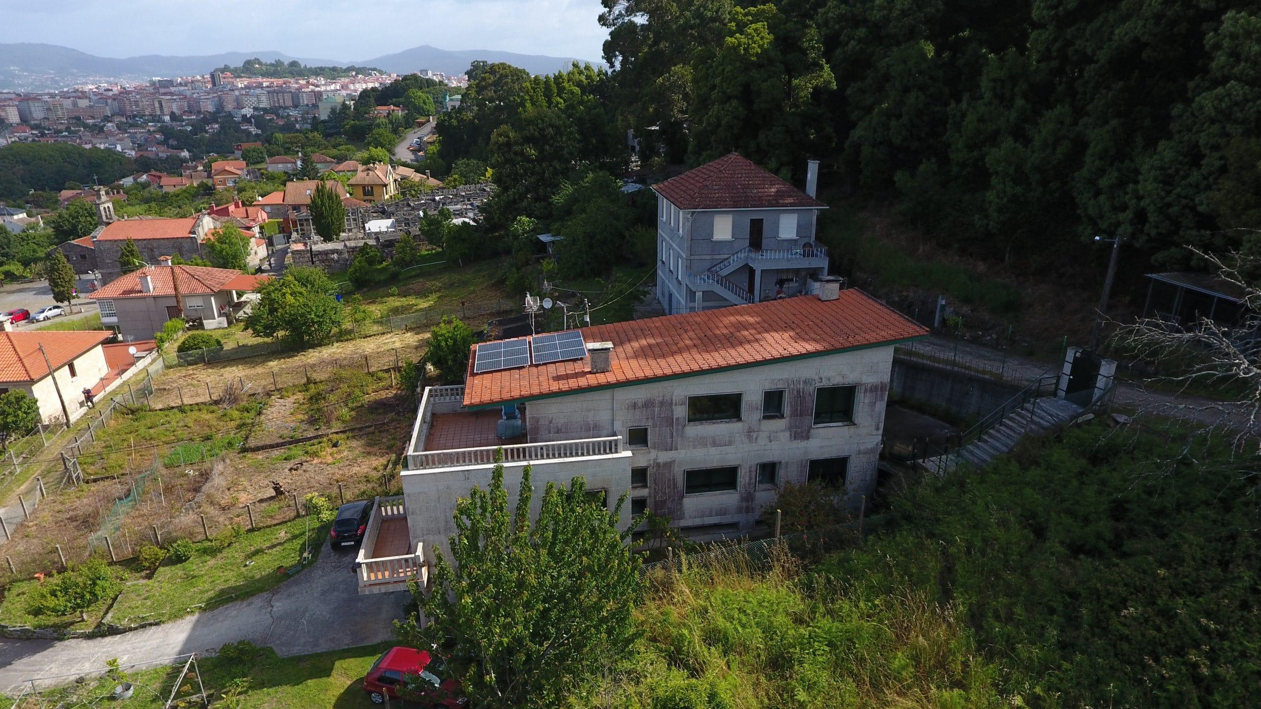 Fotovoltaica para autoconsumo en vivienda particular