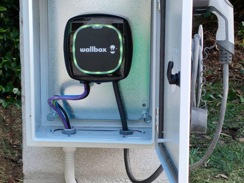 Wallbox. Cargador coche eléctrico