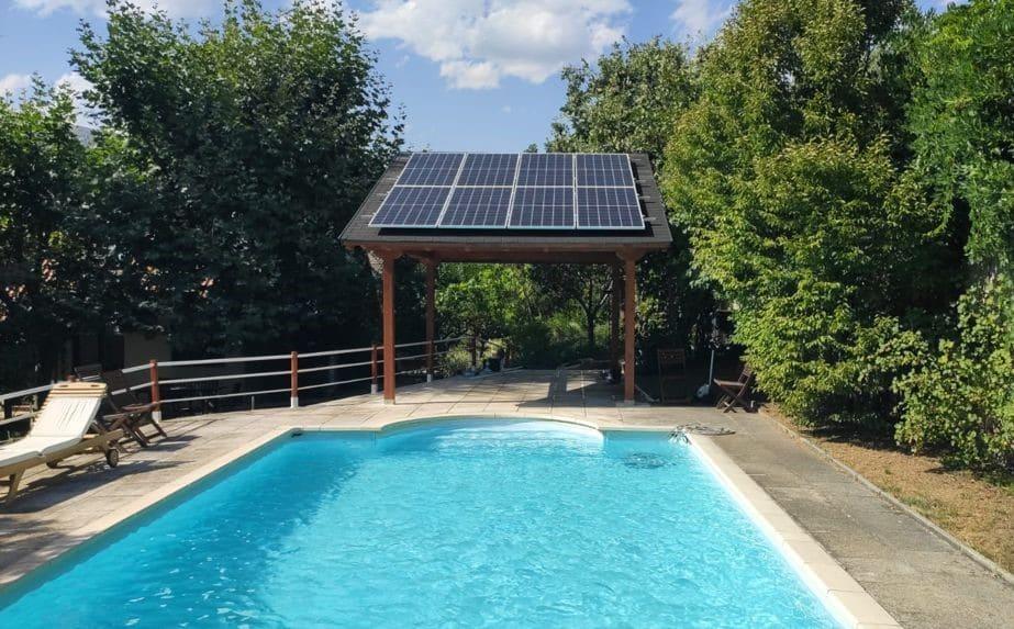 instalación fotovoltaica con batería de litio